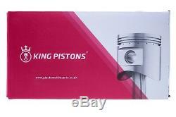 OPEL VAUXHALL 1.6 i 16V SET OF 4 PISTONS X 16 XE/X 16 XEL STD WITH RIKEN RINGS