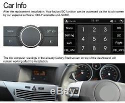 Opel Vauxhall Astra/Vectra/Corsa/Vivaro/Zafira Car Stereo DVD Player GPS Sat Nav