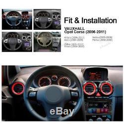 Piano Black Opel Vauxhall Corsa Antara Vectra Zafira GPS SatNav DVD Player Radio