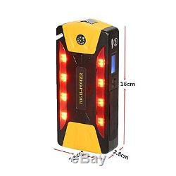 Portable 82800mAh Car Jump Starter Power Bank Emergency Charger Battery Booster