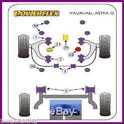 Powerflex Suspension Bush Kit For Vauxhall Astra Mk4 G 98-04 Sri & Gsi Z20let