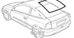 RARE Vauxhall Astra G/Mk4 Coupe Rear Window Trim GM 9194862