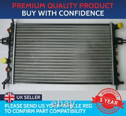 Radiator To Fit Vauxhall Astra G Mk4 Zafira A Mk1 Petrol Automatic With Air Con