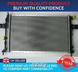 Radiator To Fit Vauxhall Astra G Mk4 Zafira A Mk1 Petrol Diesel Turbo Diesel