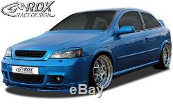 Rdx Vauxhall Astra Mk4 98-04 Opc Pur Plastic Front Bumper Lip Spoiler