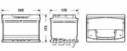 S4 075 Car Battery 4 Years Warranty 60Ah 540cca 12V Electrical Bosch S4004
