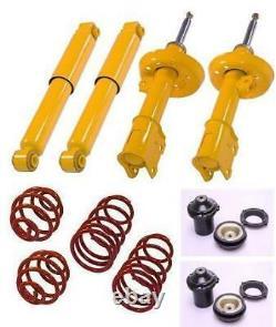 Sport suspension lowering kit springs shock absorber Opel Vauxhall Astra G MK4