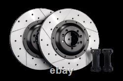 Tarox Rear Disc Upgrade 340mm Vauxhall Astra Mk4 All 5 Stud models incl GSi