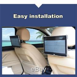 UK 2PCS 11.6 inch HD 1080P Android 7.0 Quad-core Car Headrest Rear Seat Monitors