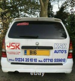 UK stock Vauxhall Astra MK4 Estate & VAN Rear bumper OPC style