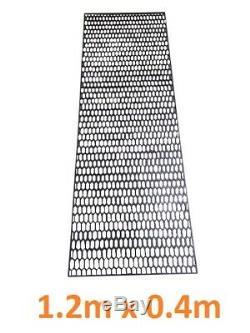 Universal Black Plastic Abs Honeycomb Mesh Bumper Grill Vent Honey Combe Hc02
