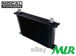 Universal Motorsport Mocal 25 Row Oil Cooler -10jic -10 An-10 Oc5257-10 Aas
