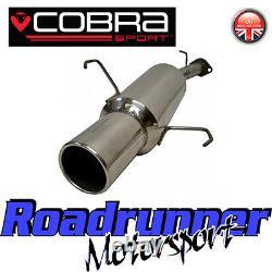 VA12 Cobra Sport Astra G MK4 Hatch Stainless Back Box Rear Silencer Exhaust 2