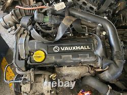VAUXHALL 1.7 DTI ENGINE Y17DT CORSA / COMBO / ASTRA MK4 2001-2005 97k