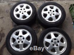 VAUXHALL ASTRA G 98-04, 15 Sport Alloy Wheel & Tyre, 5 stud FREEPOST