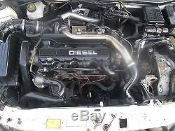 VAUXHALL ASTRA G MK4 1998-2004 1.7 LTR 1700cc 8v 67 BHP ENGINE CODE X17DTL