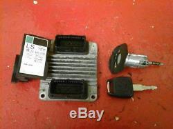 Vauxhall Astra G Mk4 1.6 8v Z16se Ecu Engine Control Unit 09353509 2001-0404