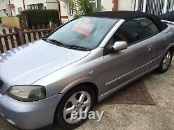 VAUXHALL ASTRA G MK4 CABRIOLET 51 Plate 1.8 Metallic Pearl Mirage Silver Blue