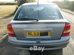VAUXHALL ASTRA G Mk4 1.6i 2003 ACTIVE MOT MARCH 21 Good Condition No Rust