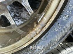 VAUXHALL CORSA 17 VXR STYLE ALLOT WHEELS & TYRES 4x100 Pcd ASTRA MK4