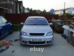 VAUXHALL OPEL ASTRA G MK4 FRONT BUMPER With Fog lights OPC STYLE SPORT ABS GSI