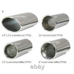 VZ02h Cobra Astra Turbo Coupe MK4 Exhaust System 3 Stainless Cat Back Non Res
