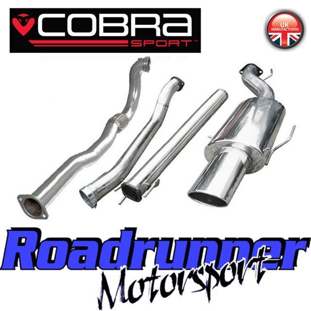 Vz10d Cobra Astra Coupe 2.0 Mk4 3 Turbo Back Exhaust System Non Res & De Cat