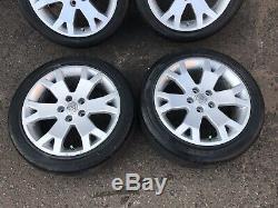 Vauxhall 17 Snowflake Alloys + Pirelli Tyres Astra Mk4 Zafira A GSI Vectra B C