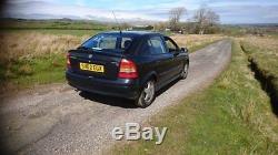 Vauxhall ASTRA CLUB 8V MK4 (G) (T98). Good condition