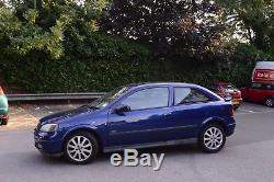 Vauxhall Astra 1.6i 16V SXi 2004 MK4 (1998 2004) 3 Door Hatchback Blue