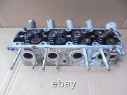 Vauxhall Astra 2001 Mk4 1.6 8v Z16se Cylinder Head With Valves