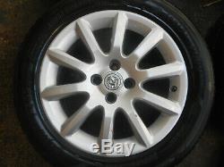 Vauxhall Astra G H Mk4 Mk5 16 4 Stud Alloy Wheels & 205/55/r16 Tyres