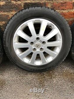 Vauxhall Astra G MK4 16 Sxi Alloy Wheels / Tyres 205/55/16 1W 5x110