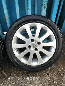 Vauxhall Astra G MK4 16 Sxi Alloy Wheels / Tyres 205/55/16 J872
