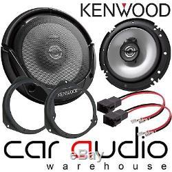 Vauxhall Astra G MK4 16cm KENWOOD 600 Watts Front Door Car Speakers & Brackets