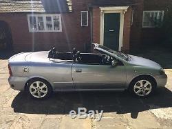 Vauxhall Astra G MK4 2004 16v 1.8i Bertone edition Convertible LPG
