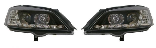Vauxhall Astra G Mk4 98-04 All Inc Van Black Drl Headlights With Led Indicator