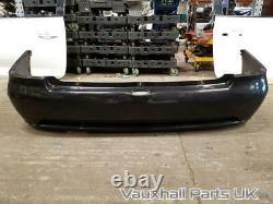 Vauxhall Astra G MK4 BERTONE Convertible Rear Bumper Carbon Black Z2UU 79384