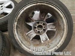Vauxhall Astra G MK4 EXCLUSIVE 16V 17 5 Stud Alloy Wheels Alloys Set 79597