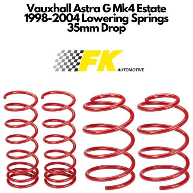 Vauxhall Astra G Mk4 Lowering Springs Estate 35mm Lowering Springs 1998-2004