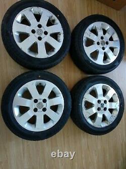 Vauxhall Astra G Mk4 15 Inch 4 Stud Alloy Wheels