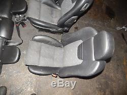 Vauxhall Astra G Mk4 98 04 5 Door Half Leather Interior Seats Recaro Type