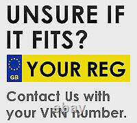 Vauxhall Astra G Mk4 98-04 Headlights Headlamps 1 Pair Black Gsi Right &left