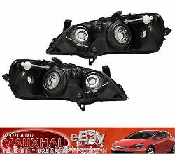Vauxhall Astra G Mk4 98-04 Pair Chrome Headlights Headlamps Drivers + Passengers