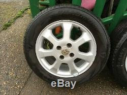 Vauxhall Astra G Mk4 98-06 15 Ronal Alloy Wheels & Tyres 4x100 24407168