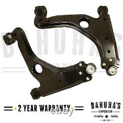 Vauxhall Astra G Mk4 98-09 x2 Front Wishbones Pair Lower Suspension Arms New