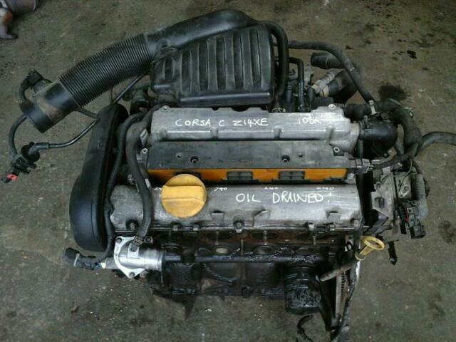 Vauxhall Astra G Mk4 Corsa C 1.4 16v Z14xe Petrol Engine 108k 2001-2005