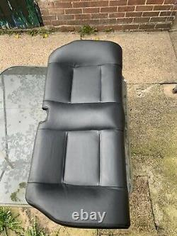 Vauxhall Astra G Mk4 Coupe Convertible Black Leather Interior Seats 1999-2005