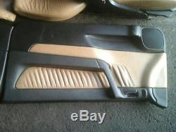 Vauxhall Astra G Mk4 Coupe Full Leather Interior With Door Cards 1999-2005