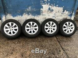 Vauxhall Astra G Mk4 H Mk5 Corsa Combo Van 15 Inch Alloy Wheels & Good Tyres